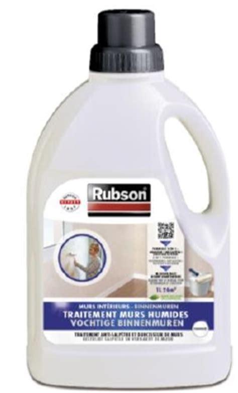 traitement mur int 233 rieur humide rubson bidon 750 ml de