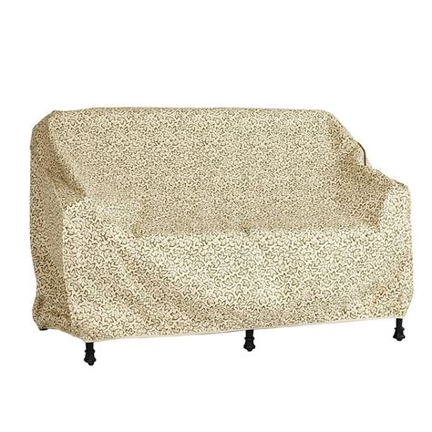 Outdoor Loveseat Cover by Outdoor Loveseat Bench Glider Cover Ballard Designs
