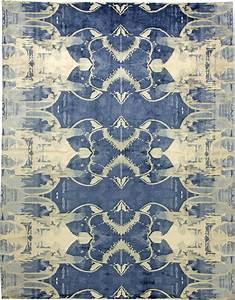 Contemporary blucie designed rug n11283 by doris leslie blau for Blue carpets designs