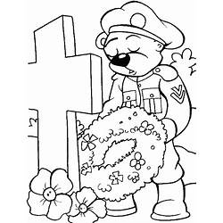 Memorial Day Flower Coloring Pages | Gardening: Flower and ...