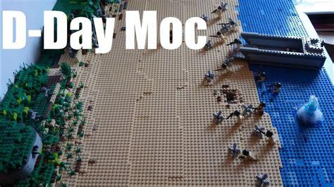 WW2 Lego D-Day Moc 6.Juni 1944 - YouTube