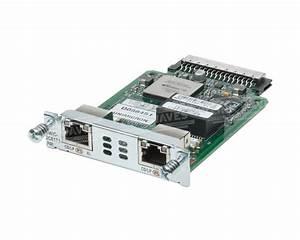 Cisco HWIC-2CE1T1-PRI High-Speed ISDN Terminal Adapter