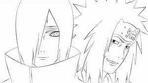 Jiraiya and Nagato by lymmny on DeviantArt