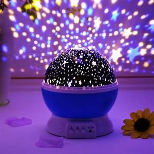 New, Projection, Lamp, Music, Night, Light, Projector, Spin, Star, Moon, Sky, Children, Kids, Baby, Sleep
