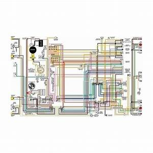 Ford Mercury Comet Color Laminated Wiring Diagram  1961