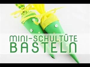 Schultüte Zum Basteln : mini schult te basteln anleitung youtube ~ Orissabook.com Haus und Dekorationen