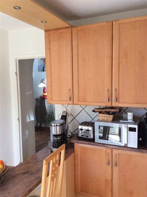 cuisine en hetre massif davaus cuisine moderne en bois hêtre avec des