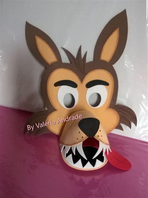 molde de mascara de lobo mau imprimir imagui professores online 24 horas m 225 scara do
