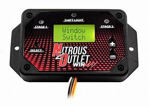 Nitrous Outlet Winmax Dual Channel Window Switch  Built