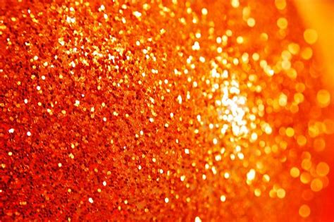Orange Glitter Wallpaper by Orange Sparkle By Swelldesigner Orange