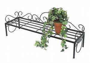 Blumenregal Metall Balkon : blumenbank mi schwarz blumenst nder 75cm blumenregal regal blumentreppe pflanzentreppe kaufen ~ Buech-reservation.com Haus und Dekorationen