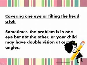 Tell tale signs that may suggest that your child need glasses