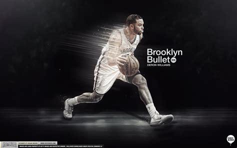 Deron Williams Brooklyn Bullet Wallpaper By Ishaanmishra