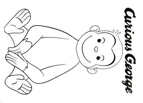 curious george coloring page 33 best curious george coloring book pages images on