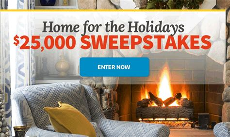 better homes and gardens sweepstakes better homes and gardens bhg holidays 25 000 sweepstakes