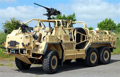 Jackal Offroad Protected Vehicle and Coyote Tactical ...