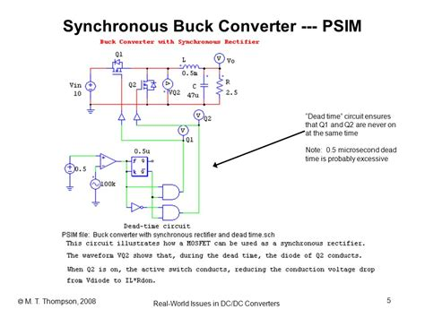 power electronics notes 07b some real world issues in dc dc converters ppt