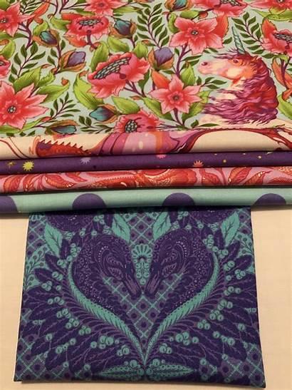 Pink Tula Pinkerville Quilt Cabin Log Fabrics