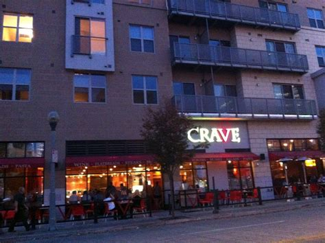 View Of Crave From Great Amer...