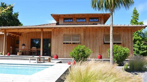 l 232 ge cap ferret centre maison en bois avec piscine immo prestige