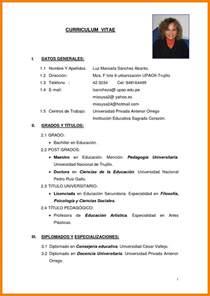 Simple Curriculum Vitae Sample Format Example Good Resume Template