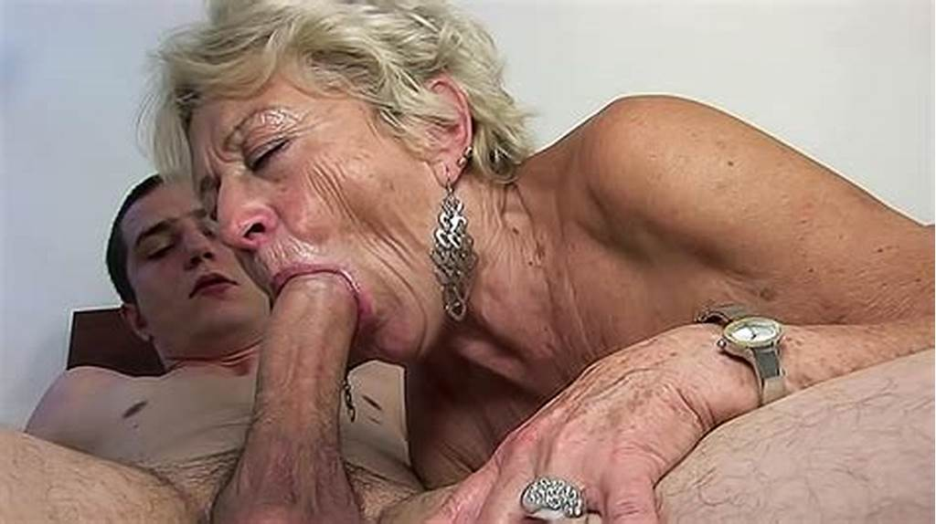 #Old #Grandma #Is #Here #To #Remember #Her #Blowjob #Skills