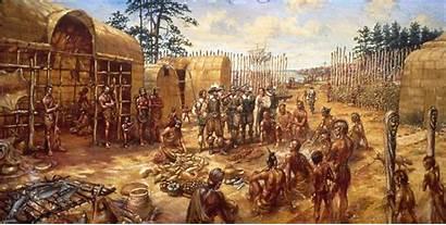 Jamestown English Permanent Settlement Settlers America American