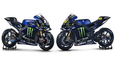 yamaha unveil stunning monster energy backed livery motogp