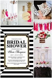 striking elegance bridal shower inspiration trueblu With what is a wedding shower
