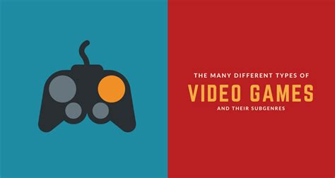 Ultimate List Of Different Types Of Video Games