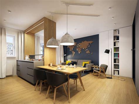 appartement moderne scandinave ingenieux amenagement