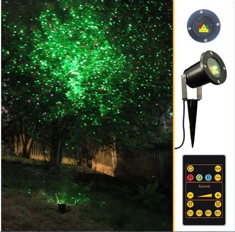2018 laser lights outdoor waterproof ip65 garden