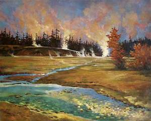 17+ images about Oil Landscape Paintings by GQ Zheng on ...