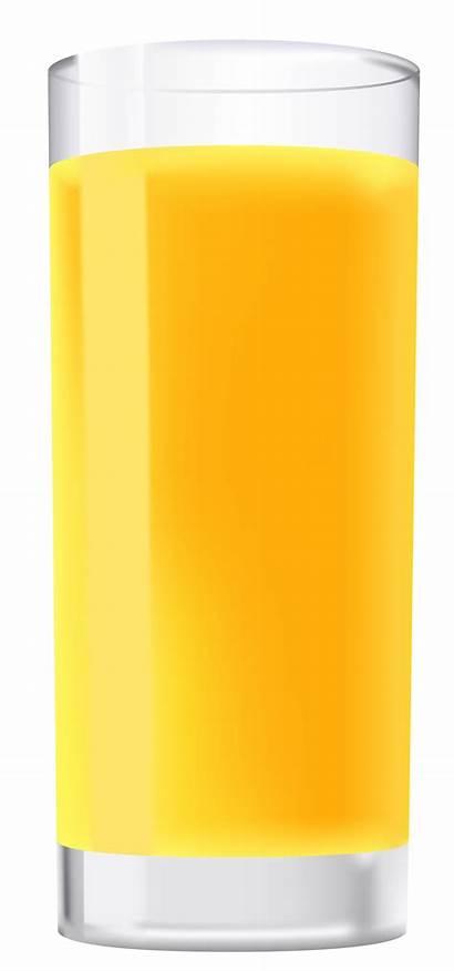 Juice Orange Glass Clipart Drinks Transparent Yopriceville