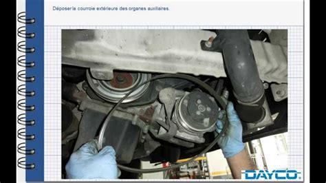 montage kit de distribution fiat ducato  mjt diesel