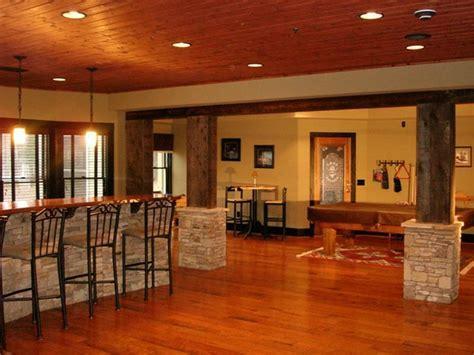 Basement Decorating Ideas Around a Pole   Home Interior Design