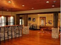 basement finishing ideas Basement Decorating Ideas Around a Pole | Home Interior Design