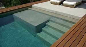 piscine bois avec escalier With piscine sous terrasse amovible 9 piscine bois avec escalier