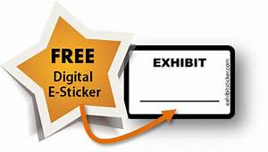 Electronic exhibit stickers for adobe acrobat for Electronic exhibit stickers