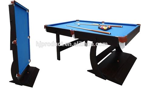 folding pool table 7ft 4ft 5ft 6ft 7ft indoor sport superior stand up pool table