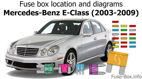 2009 Mercede E Clas Fuse Diagram by Mercedes E550 Fuse Diagram Diagrams Catalogue