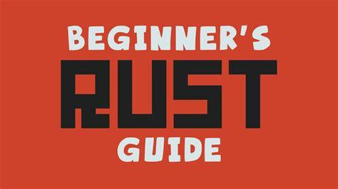 rust beginner guide