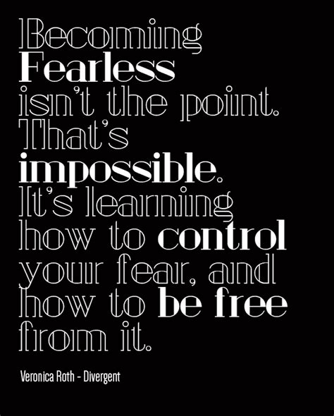 Divergent Quotes Fearless
