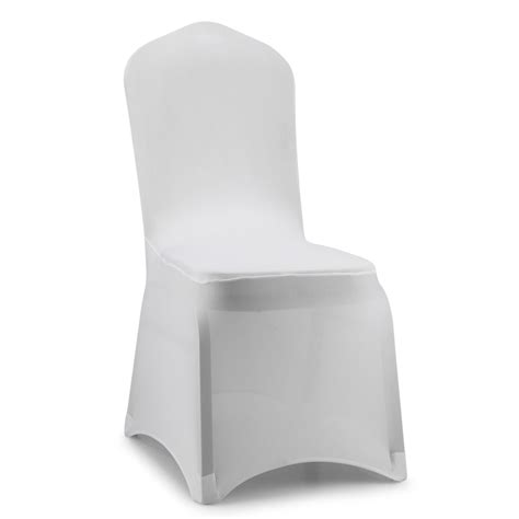 spandex lycra black white dinning wedding chair covers