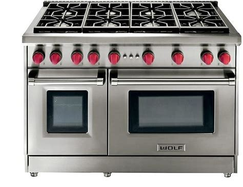 Wolf GR488 48 Inch Pro Style Gas Range with 4.4 cu. ft