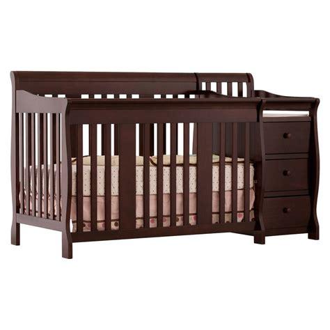 stork craft portofino crib and changer combo cribs