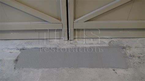 concrete floor repair patching concrete titus restoration