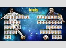 Messi vs Cristiano Ronaldo Team honours