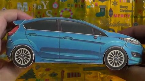 papercraft ford fiesta sport hatchback finish youtube