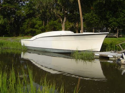 Boat Hull Project For Sale by Custom 45 Hatteras Project The Hull Boating And